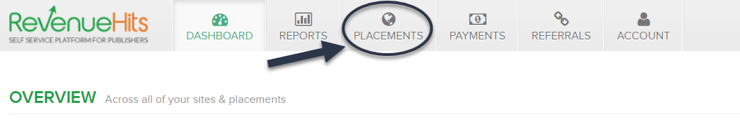 click-placement